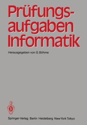 Prüfungsaufgaben Informatik