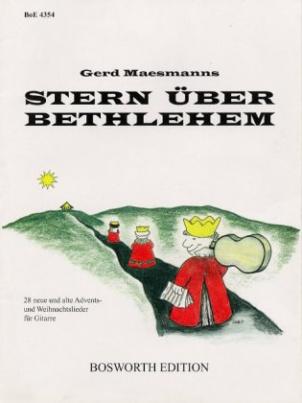 Stern über Bethlehem, für Gitarre