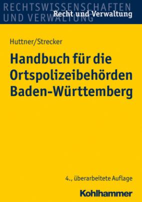 Handbuch für die Ortspolizeibehörden Baden-Württemberg