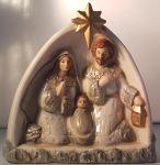 Porzellanfigur Christi Geburt
