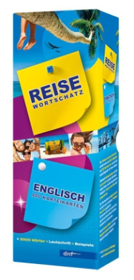 Reisewortschatz Englisch, Lernkarteikarten