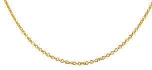 Ankerkette in 585 /Gelbgold 50 cm