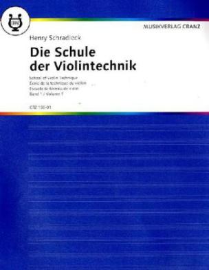 Die Schule der Violintechnik. Bd.1