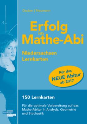 Erfolg im Mathe-Abi Lernkarten Niedersachsen