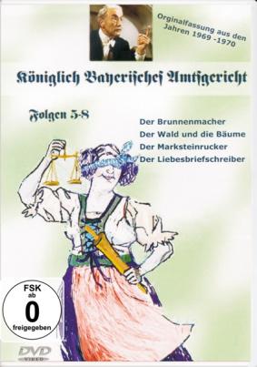 Königlich Bayrisches Amtsgericht Folgen 5-8
