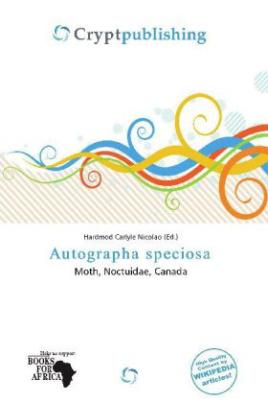 Autographa speciosa