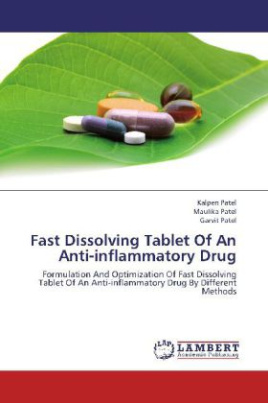 Fast Dissolving Tablet Of An Anti-inflammatory Drug