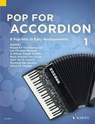 Pop For Accordion, Akkordeon. Bd.1