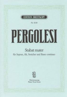 Stabat Mater, Klavierauszug