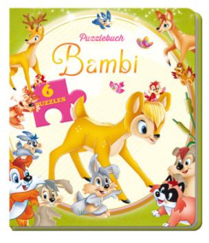 Puzzlebuch Bambi