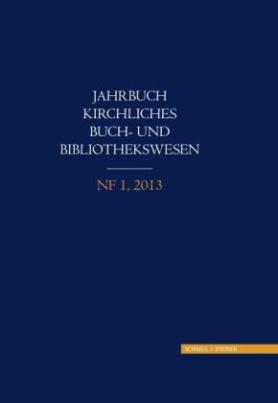 Jahrbuch, Kirchliches Buch- und Bibliothekswesen