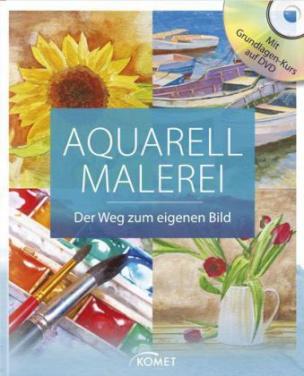 Aquarellmalerei, m. DVD