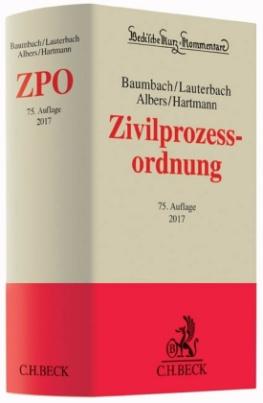 Zivilprozessordnung (ZPO), Kommentar