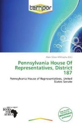 Pennsylvania House Of Representatives, District 187