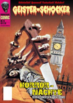 Geister-Schocker-Comic - Horror-Nächte