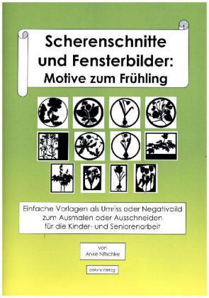 Scherenschnitte und fensterbilder motive zum fr hling - Fensterbilder motive ...
