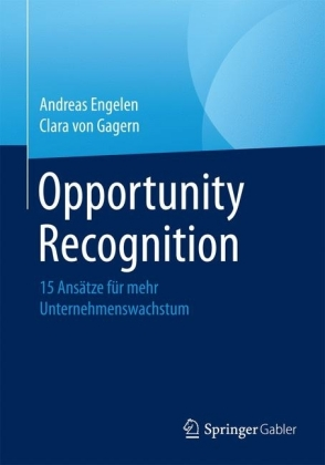 opportunity recognition Abstract the ability to recognize and develop an opportunity into a venture  defines an entrepreneur research in opportunity recognition has been robust  and.