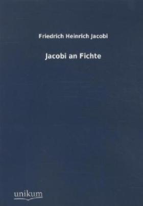 Jacobi an Fichte