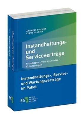 Instandhaltungs-, Service- und Wartungsverträge, 2 Tle,