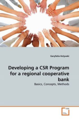 Developing a CSR Program for a regional cooperative bank