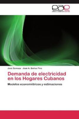 Demanda de electricidad en los Hogares Cubanos