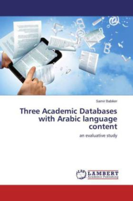 Three Academic Databases with Arabic language content