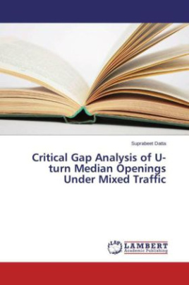 Critical Gap Analysis of U-turn Median Openings Under Mixed Traffic
