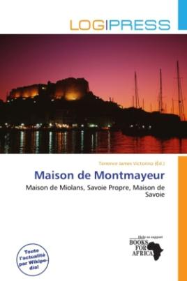 Maison de Montmayeur