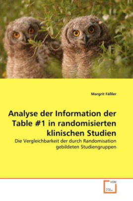 Analyse der Information der Table Nr.1 in randomisierten klinischen Studien