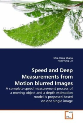 Speed and Deep Measurements from Motion blurred Images