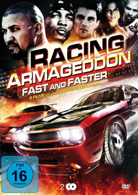 Autorennen-Filmbox (Racing Armageddon Box - Fast and Faster)