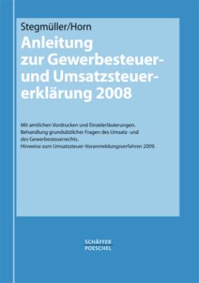 Anleitung zur Gewerbesteuer- und Umsatzsteuer-Erklärung 2008