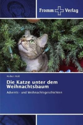 Die Katze unter dem Weihnachtsbaum