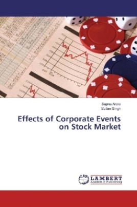Effects of Corporate Events on Stock Market