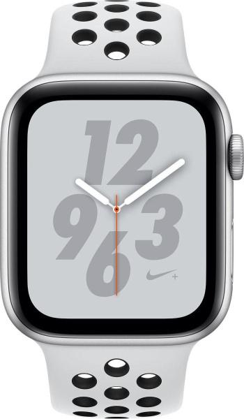 "APPLE Smartwatch ""Nike+ Series 4"" (GPS, 44mm, Aluminiumgehäuse, Weiß)"