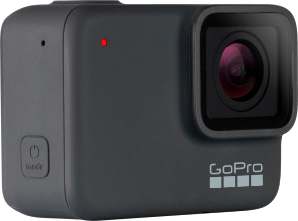 "GOPRO Action-Kamera ""HERO 7 silver"" (10 MP, 4K Ultra HD, WLAN, Bluetooth, GPS)"