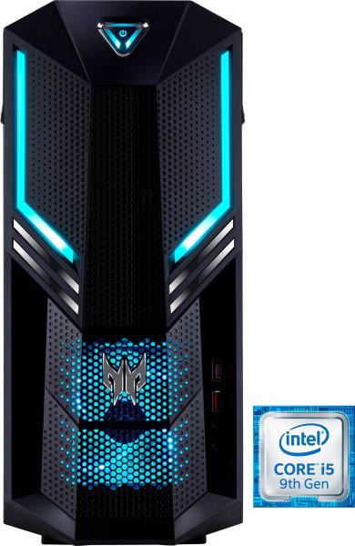 "ACER Gaming-PC ""Predator Orion 3000 PO3-600"" (i5-9400, GTX 1060 Ti, 16 GB RAM, 1 TB HDD, 128 GB SSD)"