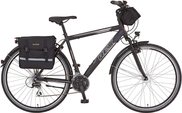 "REX BIKE Trekking Fahrrad ""Expedition"" (28 Zoll, 24 Gänge, Herren)"