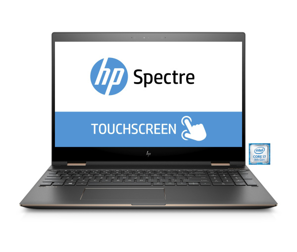 "HP Notebook ""Spectre x360 15-ch001ng"" (Intel Core i7, 15,6 Zoll, 16 GB RAM, 512 GB SSD)"
