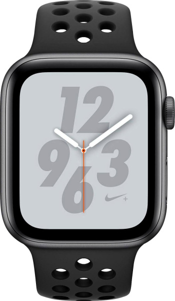 "APPLE Smartwatch ""Nike+ Series 4"" (GPS + Cellular, 40mm, Aluminiumgehäuse, Schwarz)"
