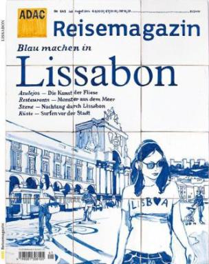 ADAC Reisemagazin Blau machen in Lissabon