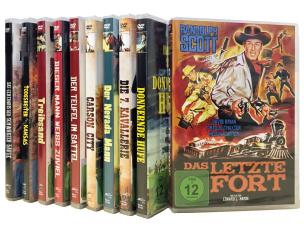 Randolph Scott - Der Westernheld 10er-Set