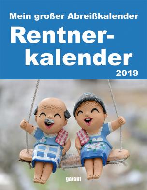 Rentner - Abreißkalender 2019