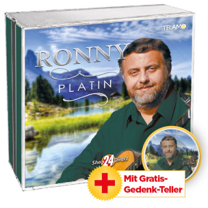 Platin + GRATIS Gedenkteller Ronny