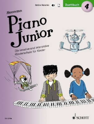Piano Junior: Duettbuch. Bd.4