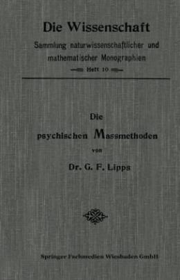 Die Psychischen Massmethoden