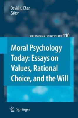 Moral Psychology Today