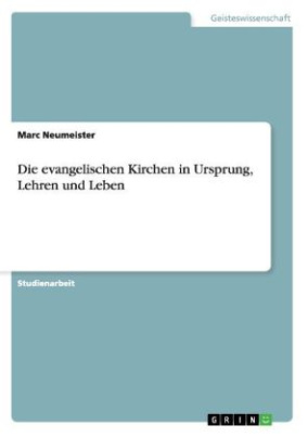 Die evangelischen Kirchen in Ursprung, Lehren und Leben
