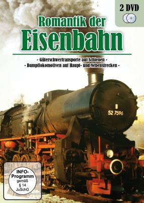 Romantik Der Eisenbahn - Dampflokomotiven & Güterschwertransporte (2 DVDs)