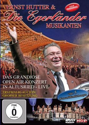 Ernst Hutter & die Egerländer Musikanten - Das Grandiose Open Air Konzert in Altusried - Live (DVD)